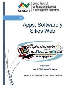 Apps, software y sitios web
