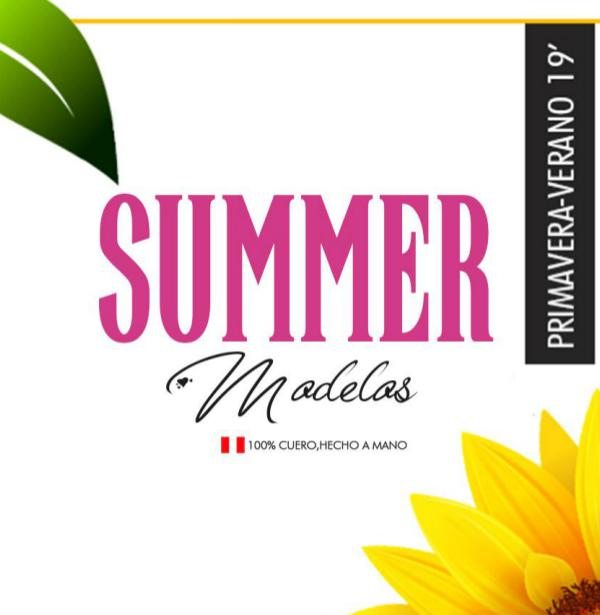 Catálogo Summer 2018 MODELOS CON PIERNA VERANO