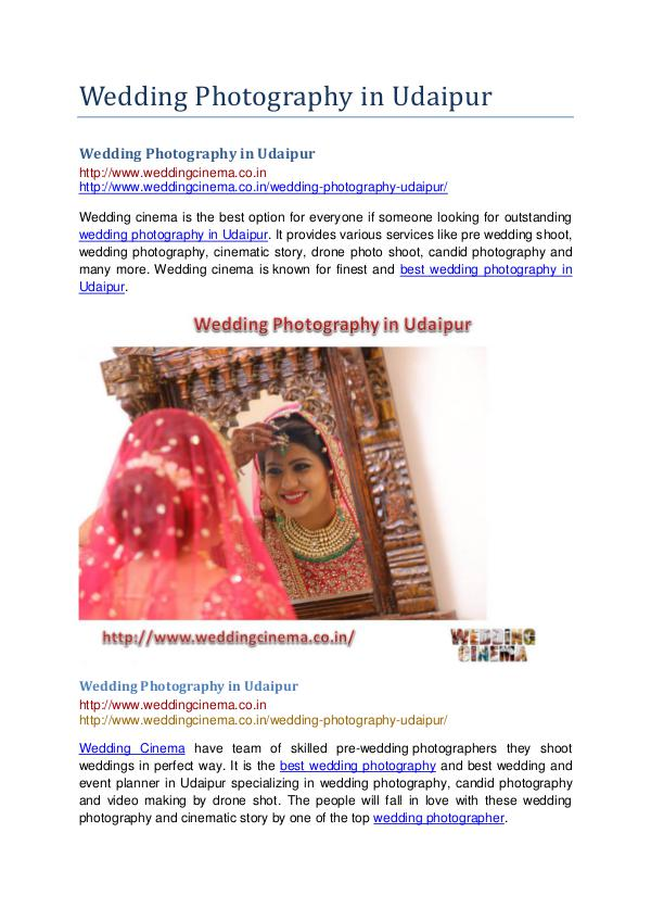 Wedding Photography in Udaipur Wedding Photography in Udaipur