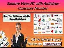 Remove Virus PC with Antivirus Customer Number
