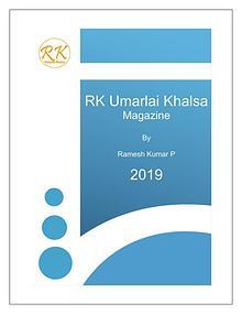 RK Umarlai Khalsa Magazine