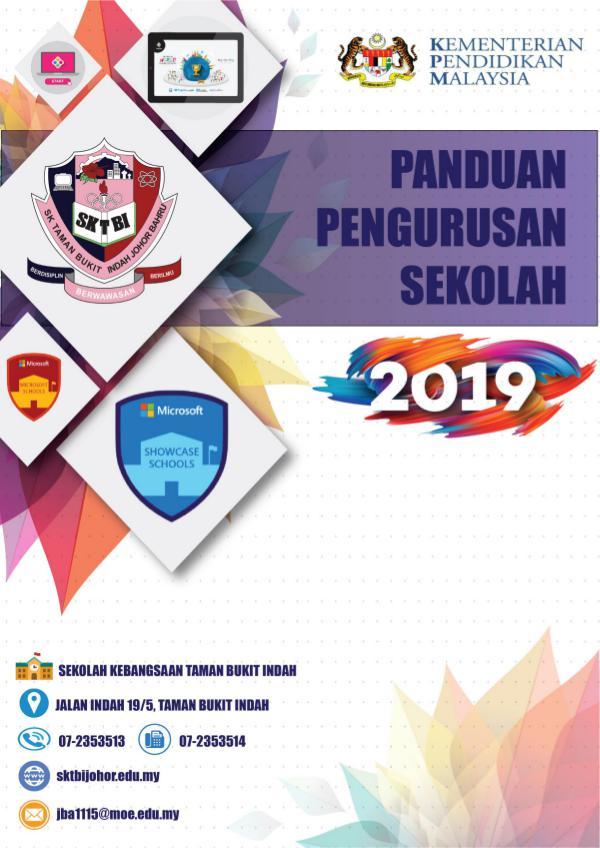 BUKU PANDUAN PENGURUSAN SEKOLAH 2019 Buku Pengurusan SKTBI 2019