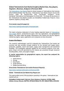 Telemedicine Cart market size, share, growth & trends
