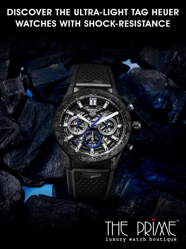 Discover The Ultra-Light Tag Heuer Watches With Shock-Resistance Discover The Ultra-Light Tag Heuer Watches With Sh