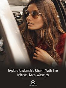 Explore Undeniable Charm With The Michael Kors Watches