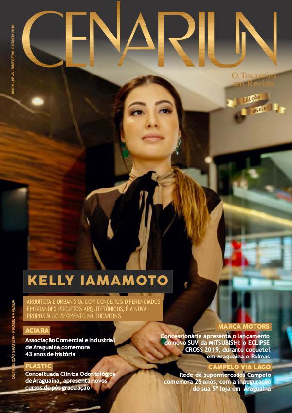 Revista Cenariun - Kelly Iamamoto RC KELLY IAMAMOTO CAPA