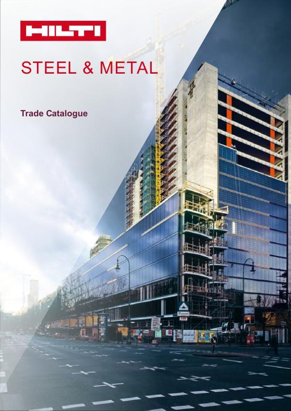 Digital Trade Catalogue Steel Metal