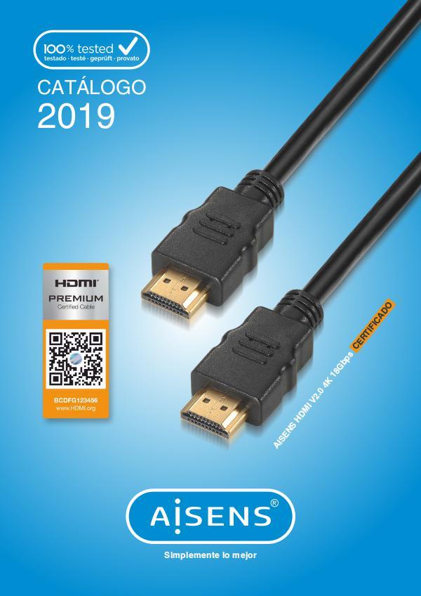 Mi primera revista Catálogo AISENS Cables 2019