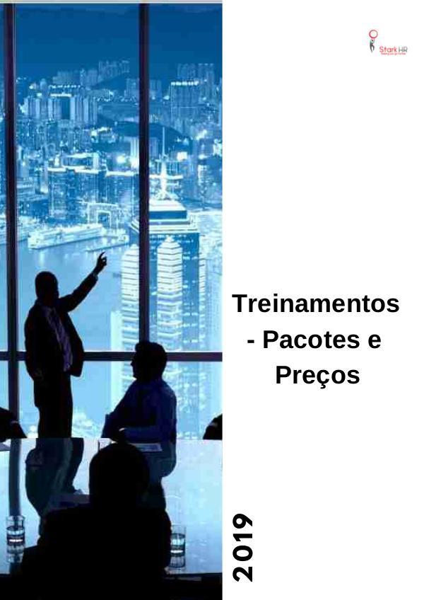 Tabela de Precos Treinamento 2019 pACOTES DE TREINAMENTO 2019