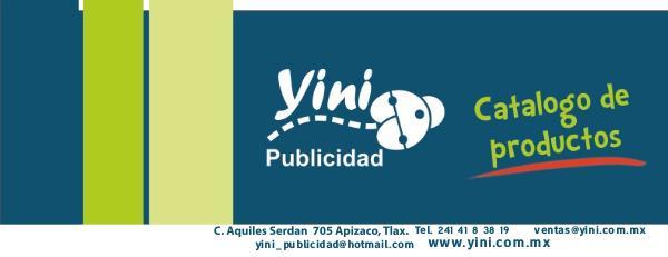 Catalogo comercial Yini