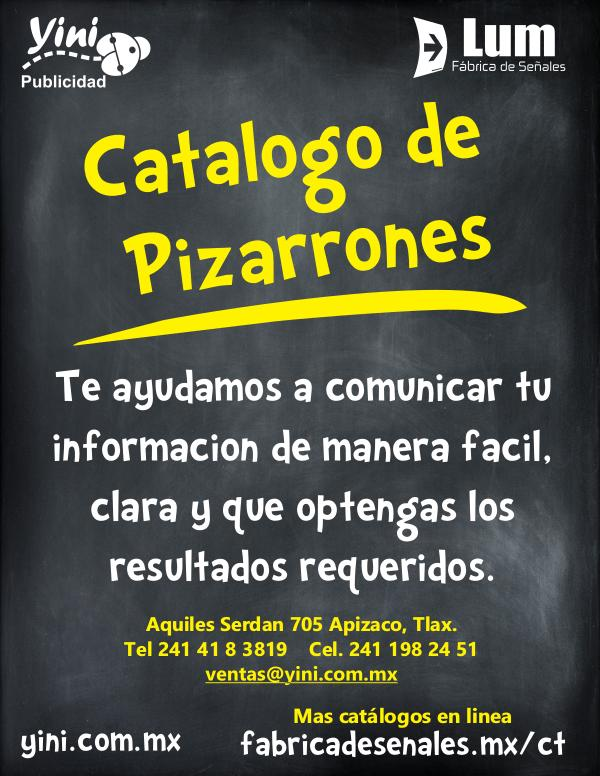 Catalogo Yini pizarrones final