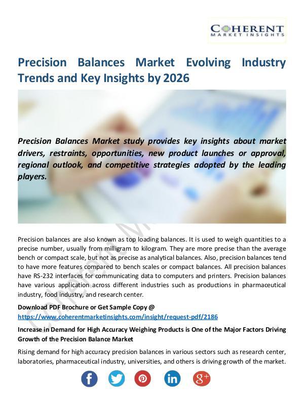 Precision-Balances-Market