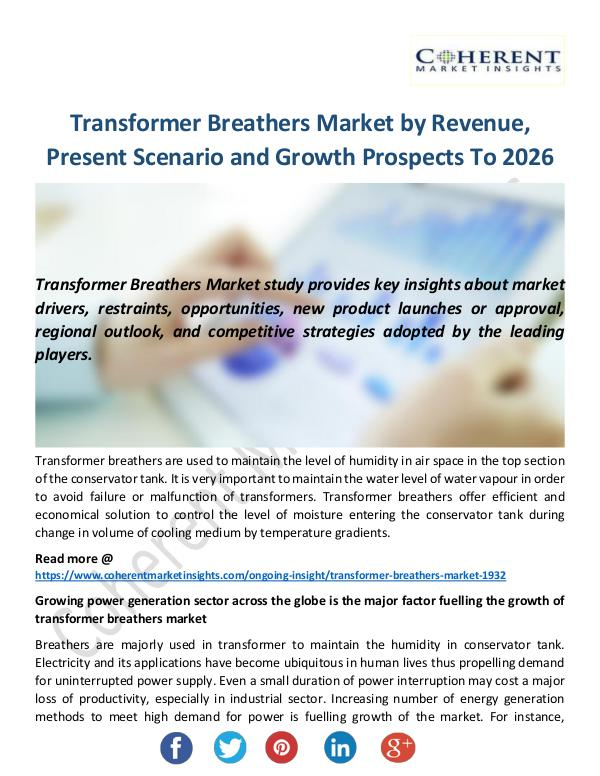 Transformer Breathers Market