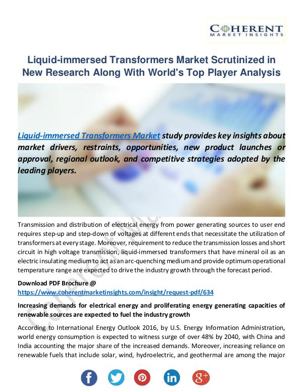 Christy Publications Liquid-immersed Transformers Market