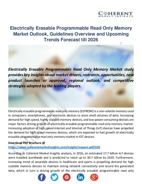 Electrically Erasable Programmable Read Only Memor