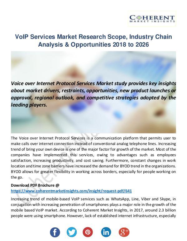 Christy Publications VoIP Services Market