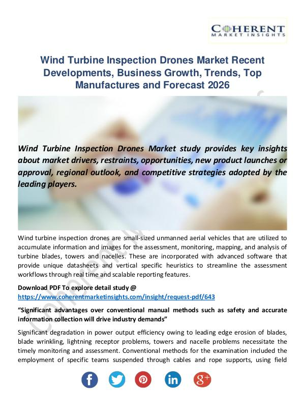 Christy Publications Wind Turbine Inspection Drones Market
