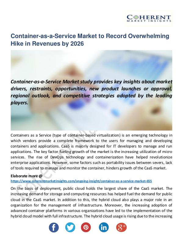 Container-as-a-Service Market