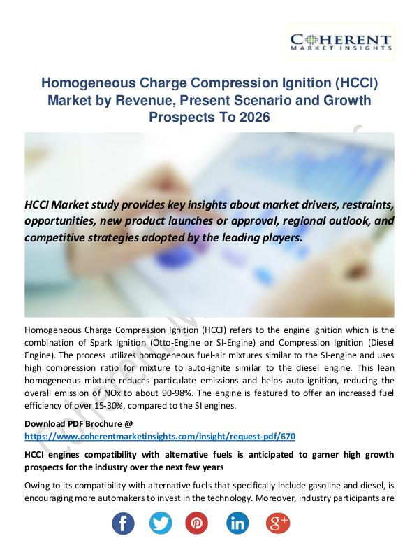 Homogeneous Charge Compression Ignition (HCCI)