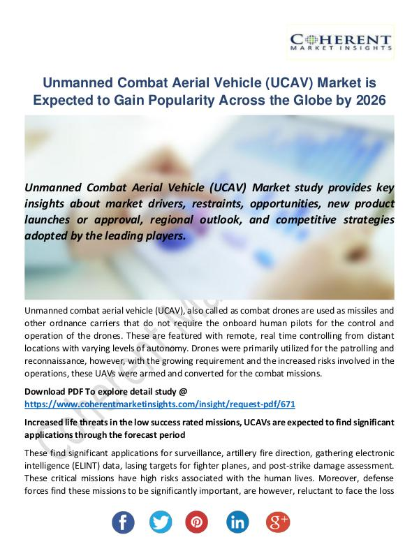 Unmanned Combat Aerial Vehicle (UCAV) Market