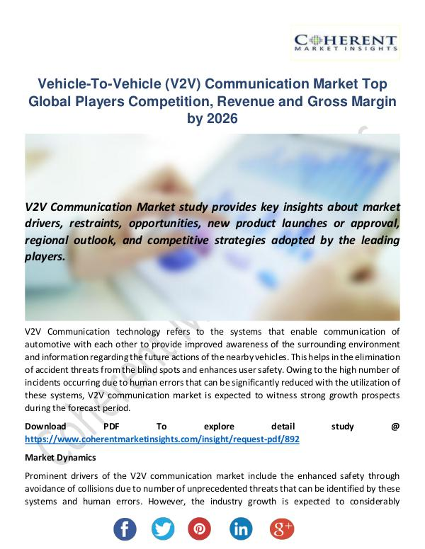 Vehicle-To-Vehicle (V2V) Communication Market