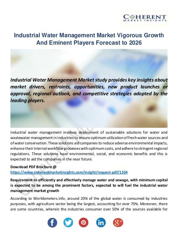 Industrial Water Management Market