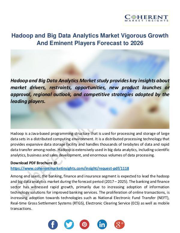 Hadoop and Big Data Analytics Market
