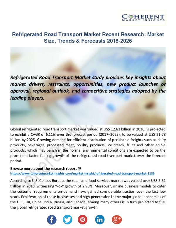 Christy Publications Refrigerated Road Transport Market