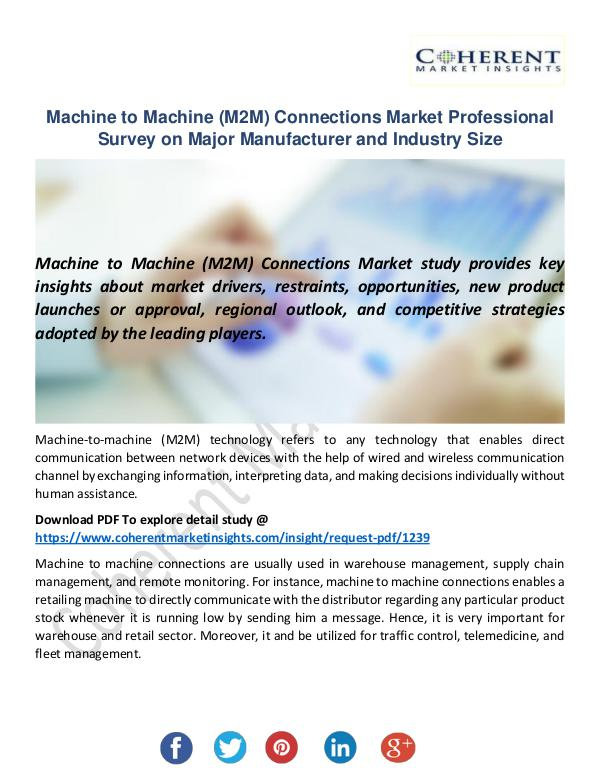 Machine to Machine (M2M) Connections Market