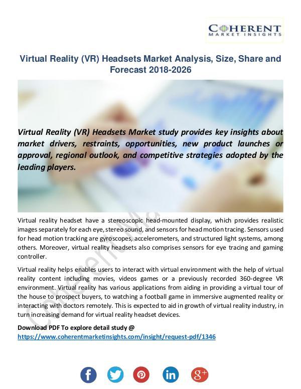 Virtual Reality (VR) Headsets Market