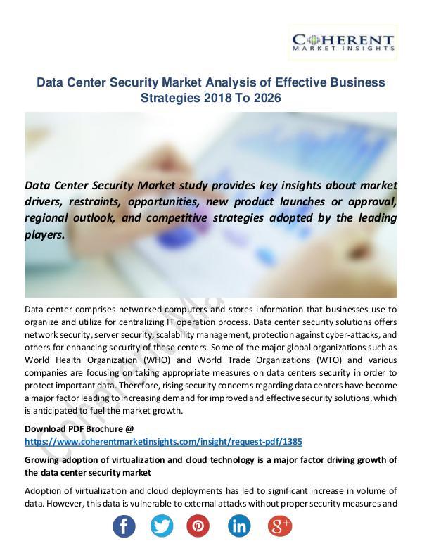 Data Center Security Market