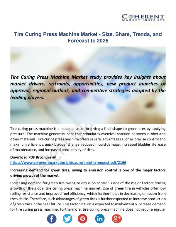 Tire Curing Press Machine Market
