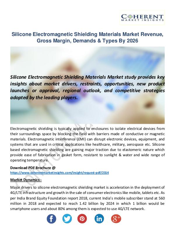 Silicone Electromagnetic Shielding Materials