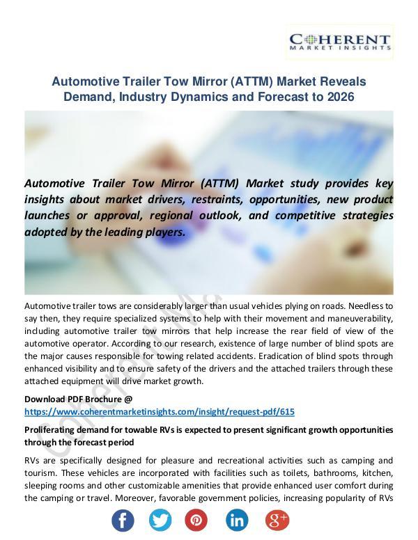 Automotive Trailer Tow Mirror (ATTM) Market