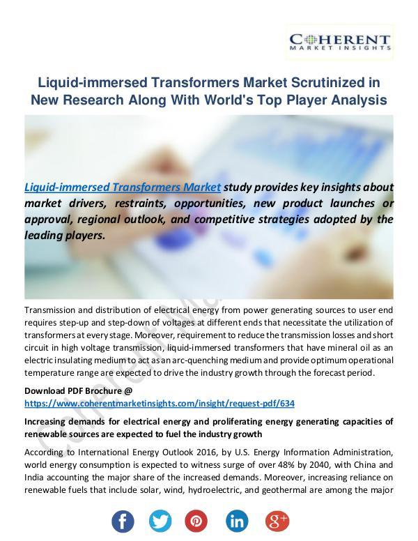 Liquid-immersed Transformers Market