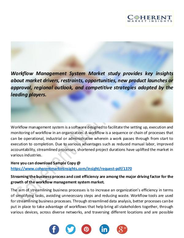 Christy Publications Workflow Management System Market