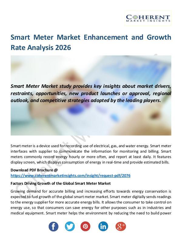 Christy Publications Smart Meter Market