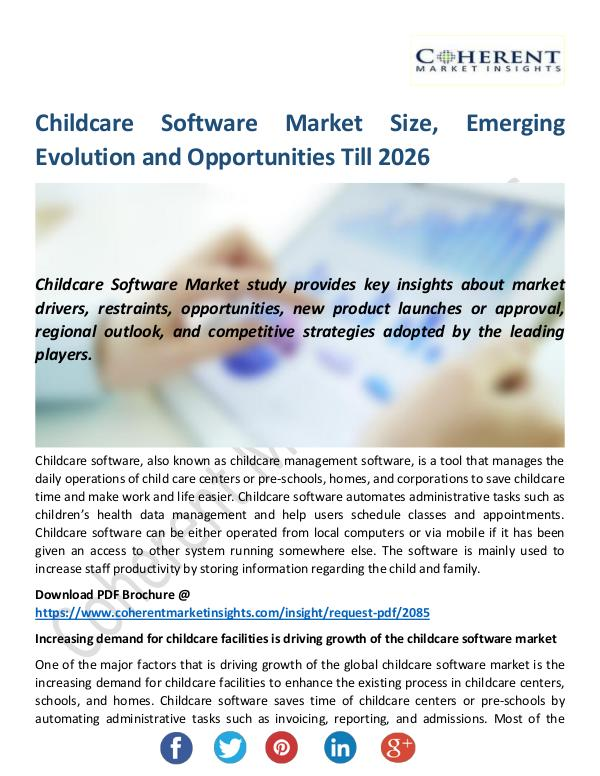Christy Publications Childcare Software Market