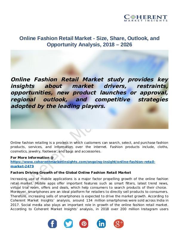Online Fashion Retail Market