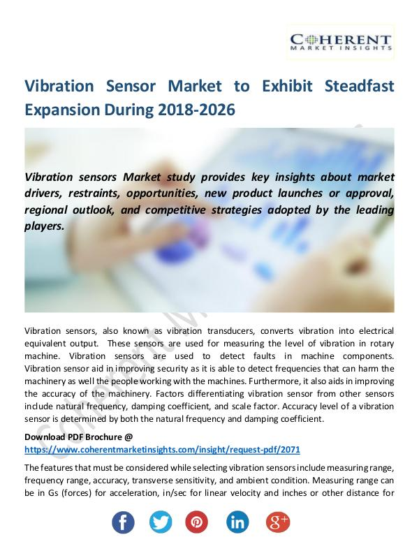 Christy Publications Vibration Sensor Market