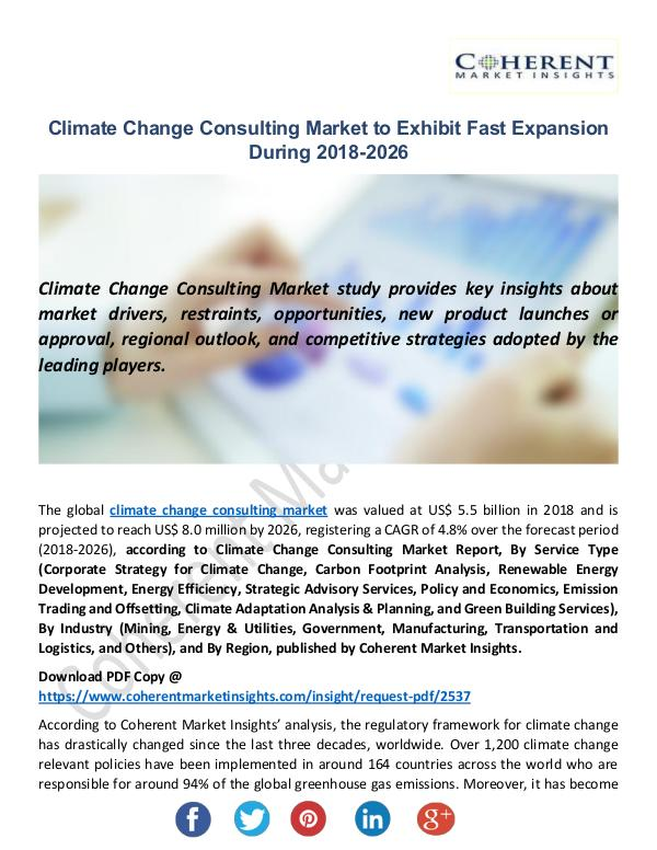 Christy Publications Climate Change Consulting Market