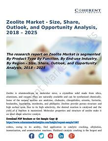 Zeolite Market - Size, Share, Outlook, and Opportunity Analysis, 2018