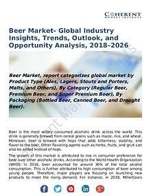 Beer Market- Global Industry Insights, Trends, Outlook, and Opportuni