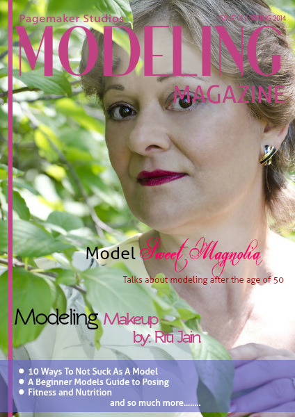 Pagemaker Studios Modeling Magazine Spring Issue 2014