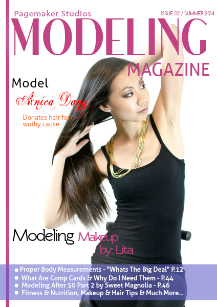 Pagemaker Studios Modeling Magazine Summer Issue 2014