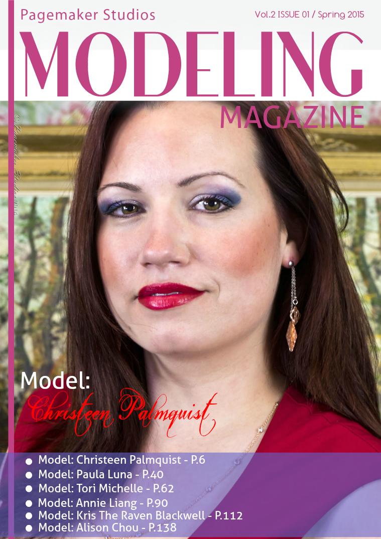 Pagemaker Studios Modeling Magazine Spring Issue 2015