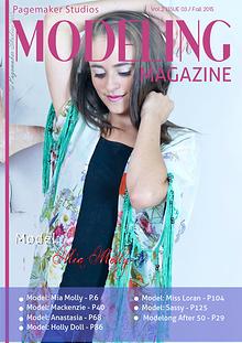 Pagemaker Studios Modeling Magazine