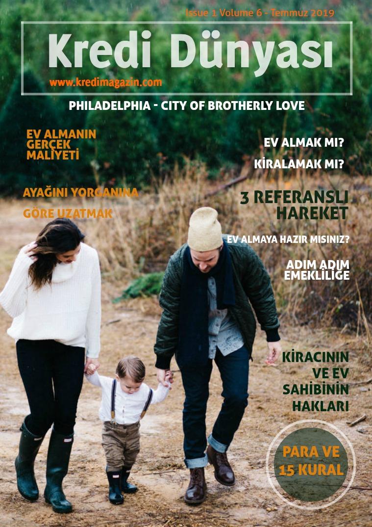 Kredi Dünyası Issue 1 Volume 6 - Temmuz 2019