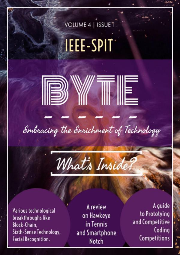 IEEE Byte- Volume 4 | Issue 1 IEEE BYTE- Vol4 Issue1