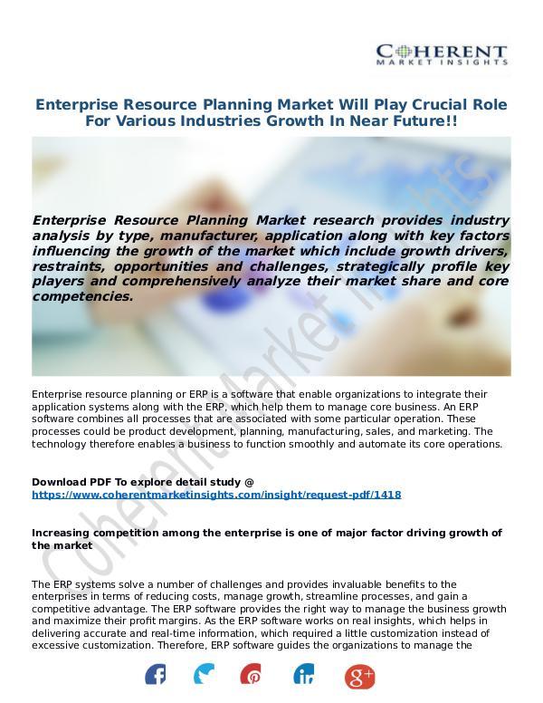 Techno World Enterprise-Resource-Planning-Market